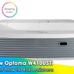 Review Optoma W410USTi