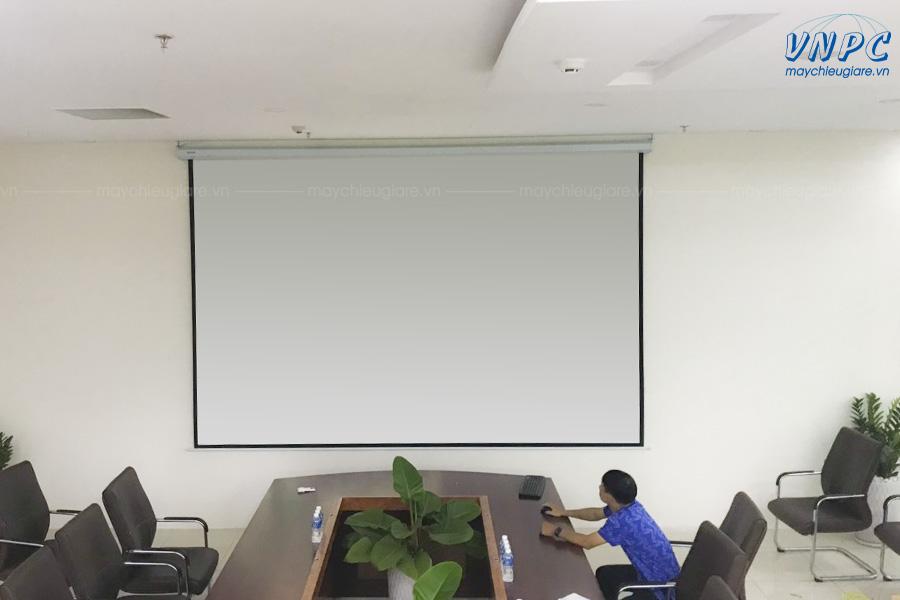 Màn chiếu điện 200 inch giá rẻ Dalite, Apollo