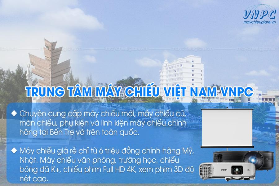 VNPC phân phối máy chiếu tại Bến Tre