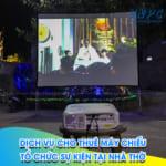 VNPC chuyên cho thuê máy chiếu nhà thờ
