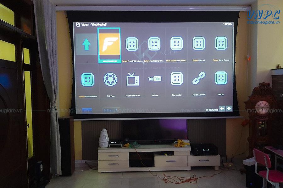 Lắp đặt Optoma HD29H cho phòng phim gia đình
