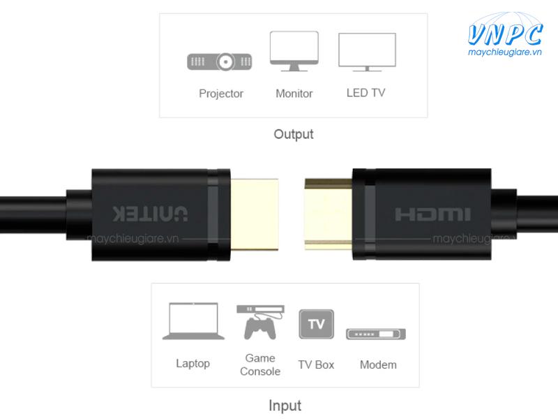 Cáp HDMI 2.0 Unitek