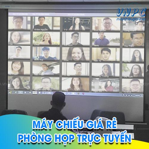 VNPC lắp đặt máy chiếu phòng họp trực tuyến