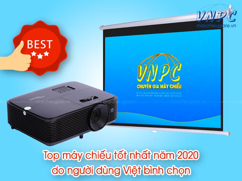 Top máy chiếu tốt nhất năm 2020 do người dùng Việt bình chọn