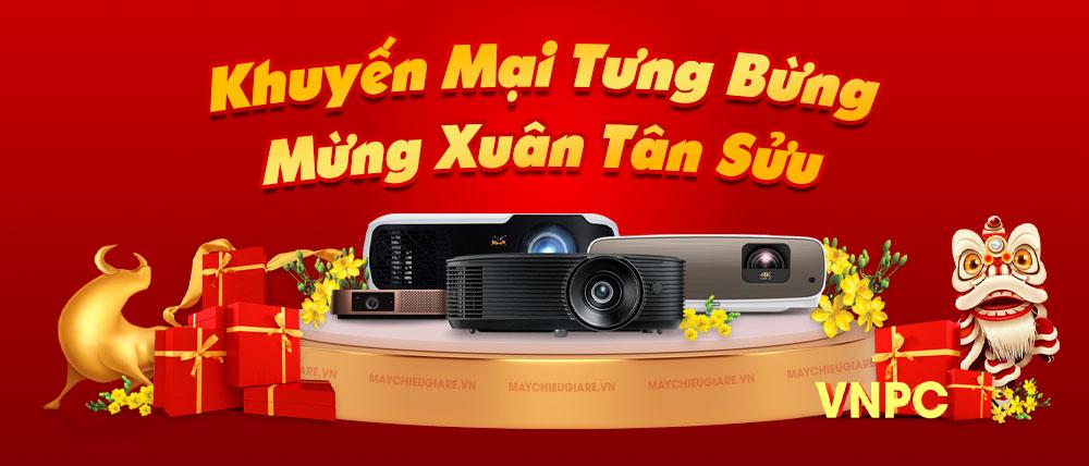 Khuyến mại máy chiếu Tết 2021