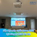 Lắp đặt máy chiếu Epson FH52 tại văn phòng Công ty TELIN Hà Nội