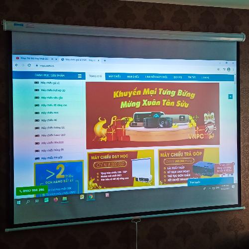 Lắp đặt máy chiếu Optoma HT27LV tại Hà Nội