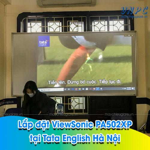 VNPC lắp đặt ViewSonic PA502XP phục vụ dạy học