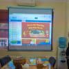 Lắp đặt máy chiếu văn phòng Optoma PW450 tại Cầu Giấy, Hà Nội