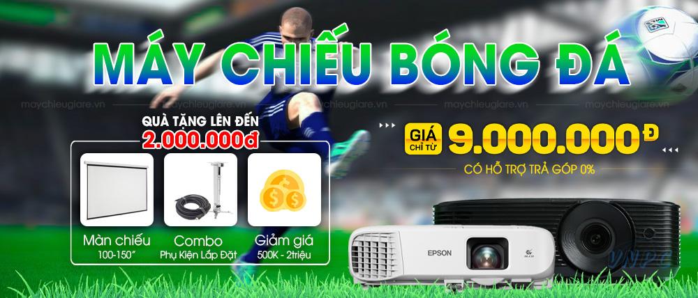 VNPC khuyến mại máy chiếu bóng đá 2021