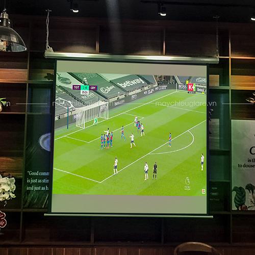 VNPC lắp đặt máy chiếu bóng đá Optoma PW450 tại Viva Reserve