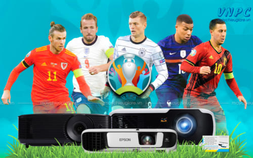 máy chiếu bóng đá Euro