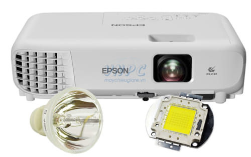 So sánh bóng đèn máy chiếu Halogen, LED và Laser