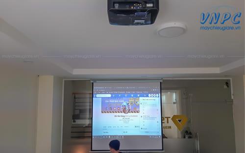 Lắp đặt 3 máy chiếu Optoma PX390 tại KDC CityLand Gò Vấp
