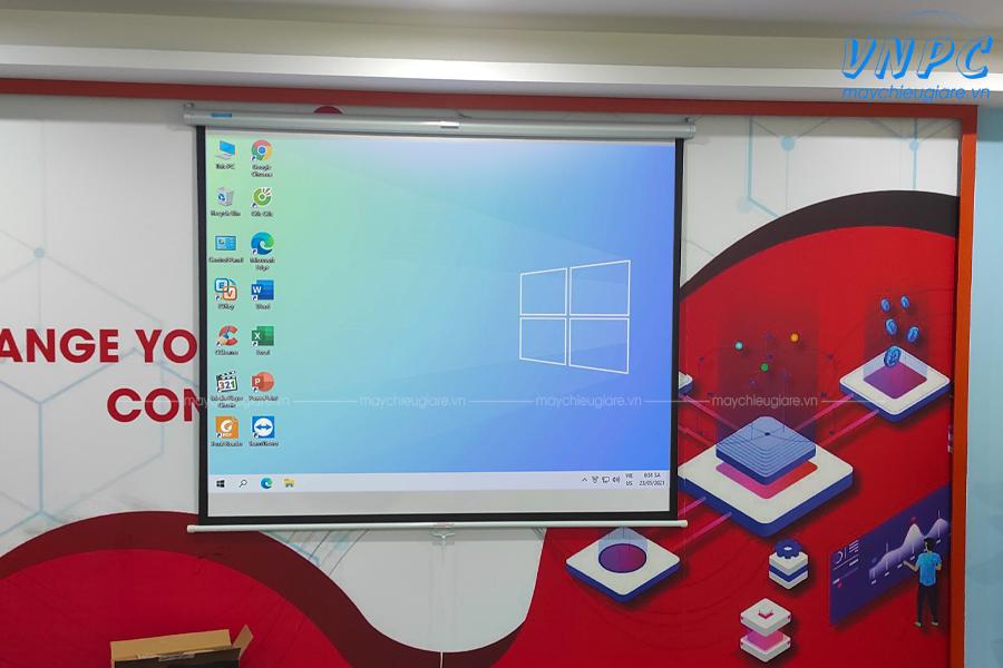 Lắp đặt máy chiếu Optoma PS368 tại Defgate Hà Nội